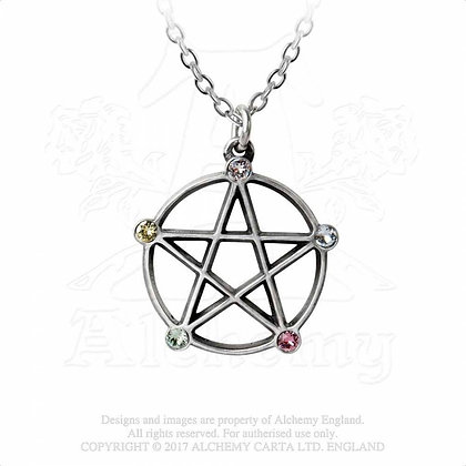 Wiccan Elemental Pentacle (Alchemy Gothic)