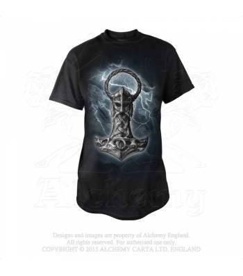 Mjolnir T-Shirt (Alchemy Gothic)