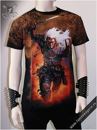 White Wolf (The Witcher) T Shirt