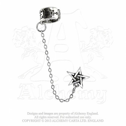 Pentagram Ear Cuff (Alchemy Gothic)
