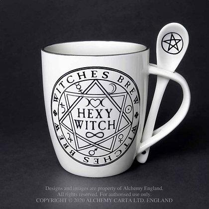 Hexy Witch: Mug and Spoon Set (Alchemy Gothic)