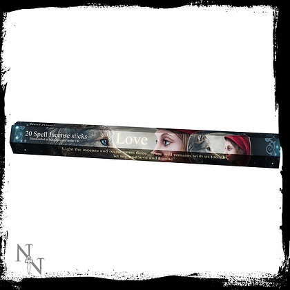Love Spell Rose Incense Sticks