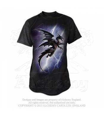 Lightning Dragon T-Shirt (Alchemy Gothic)