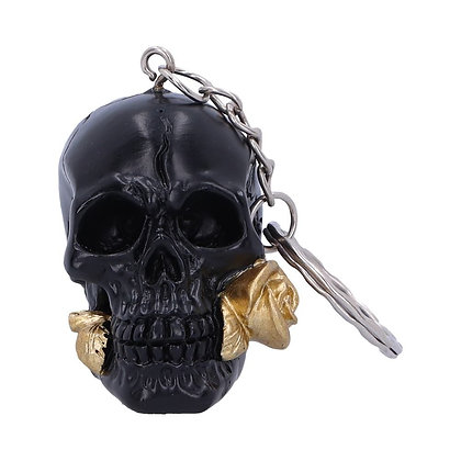 Black Rose from the Dead Keyring