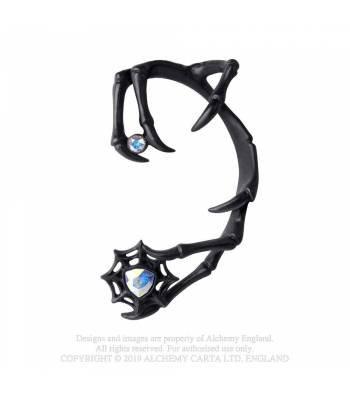 Demon Black Ear Wrap (Alchemy Gothic)