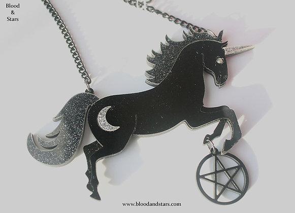 Acrylic Unicorn Pendant