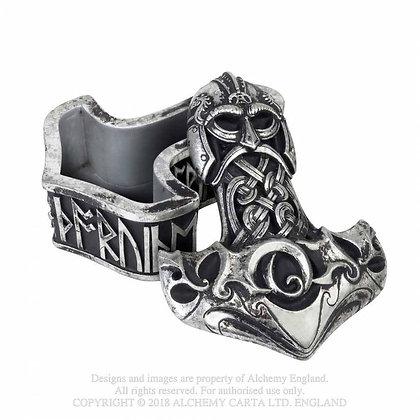 Thor's Hammer Trinket Box (Alchemy Gothic)