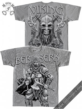 Viking Berserk T Shirt