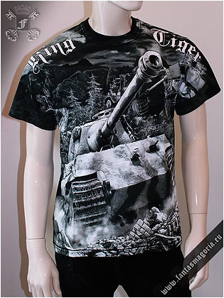 King Tiger Tank T Shirt