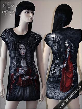 Lady Of The Night Tunic Dress