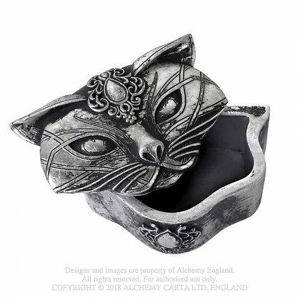 Sacred Cat Trinket Box (Alchemy Gothic)