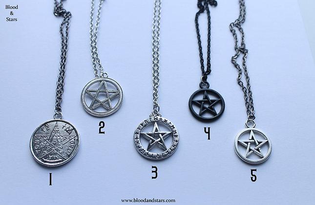 Pentagram Necklaces