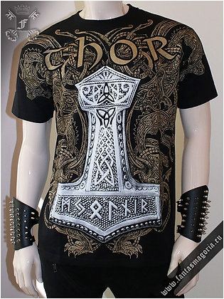 Thor Hammer Viking T Shirt