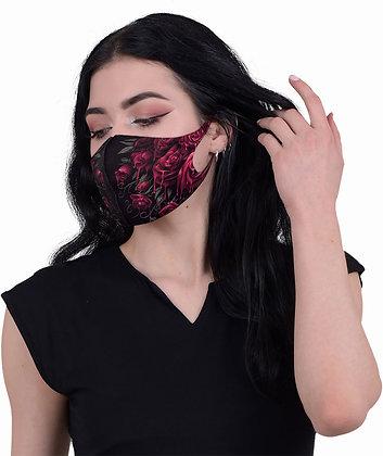 Blood Rose Face Mask (Spiral)