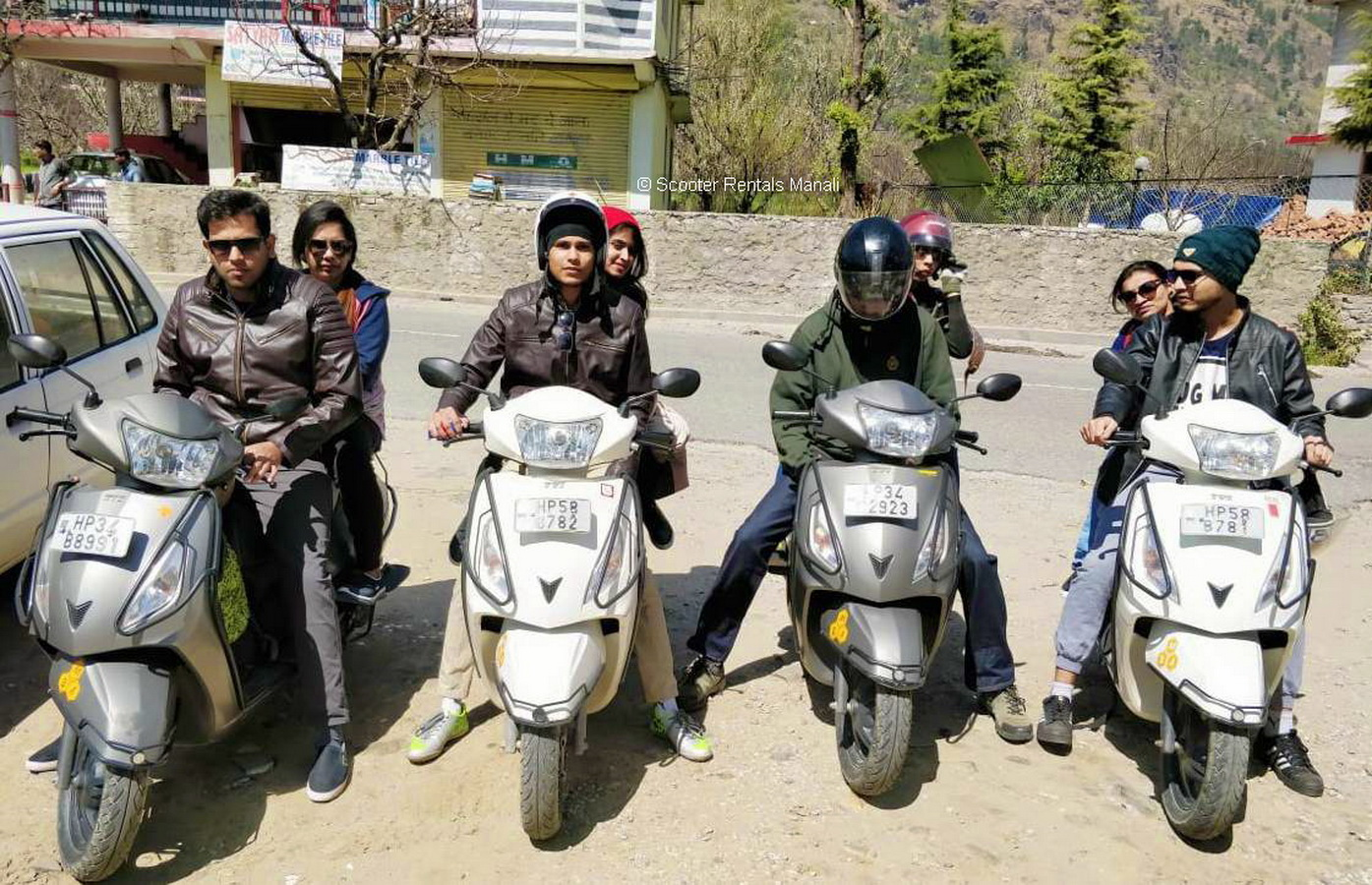 ScooterRentalsManali-130