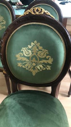 Altamura example of upholstery