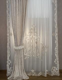 Nuvola Lilium velvet panel