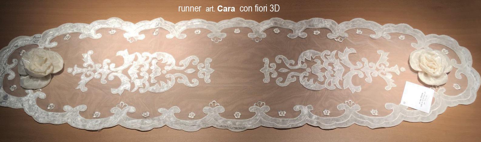 06 runner Cara con fiori 3D