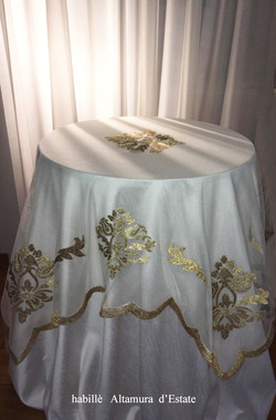 Altamura organdie tableclothra_habillè