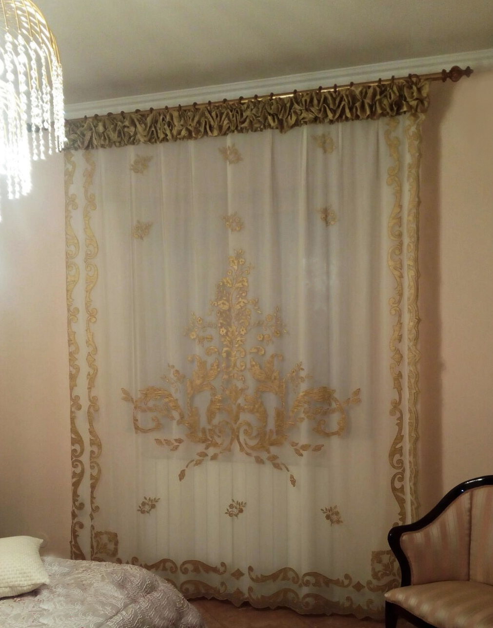 Nuvola Lilium  2B Rich luxury curtain