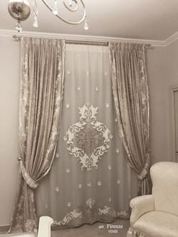 Firenze luxury curtains