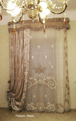 Palazzo Reale very rich curtain set