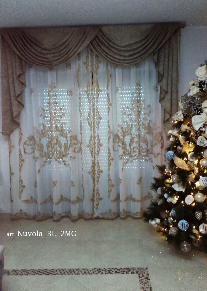 Nuvola Lilium 3L 2MG luxury curtain