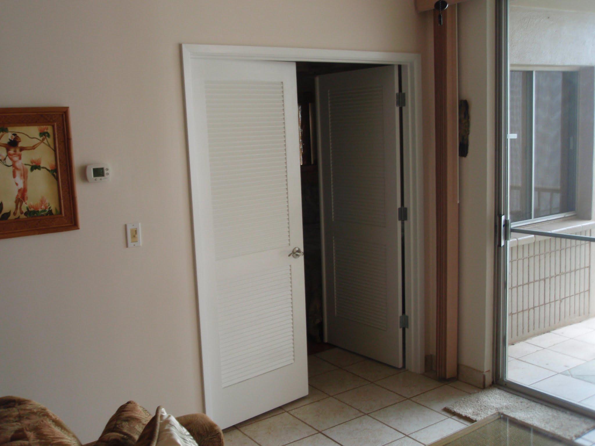 New bedroom entry doors