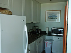 All new kitchen with new cabinets, countertops and appliances etc