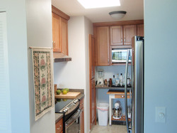 Newly-installed appliances.