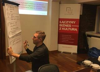 """Warsztaty """"Kadry kultury. Budowanie relacji we współpracy międzysektorowej"""", 29 listopada"""