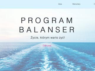 Program Balanser - nowa strona www