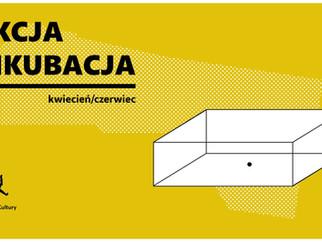 Akcja Inkubacja - warsztaty dla Fundacji Otwarta Strefa Kultury, kwiecień - czerwiec 2018, Poznań