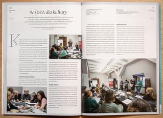 """Wiedza dla kultury, """"Biznes z kulturą"""" styczeń 2020"""