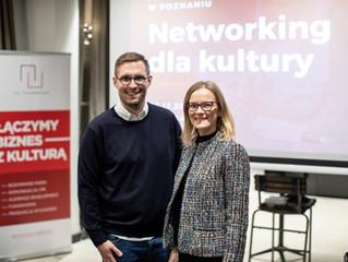 Networking dla kultury, Poznań, Młyńska12, 5.12.2019