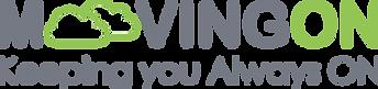 MoovingOn Logo and Text Grey Green.png