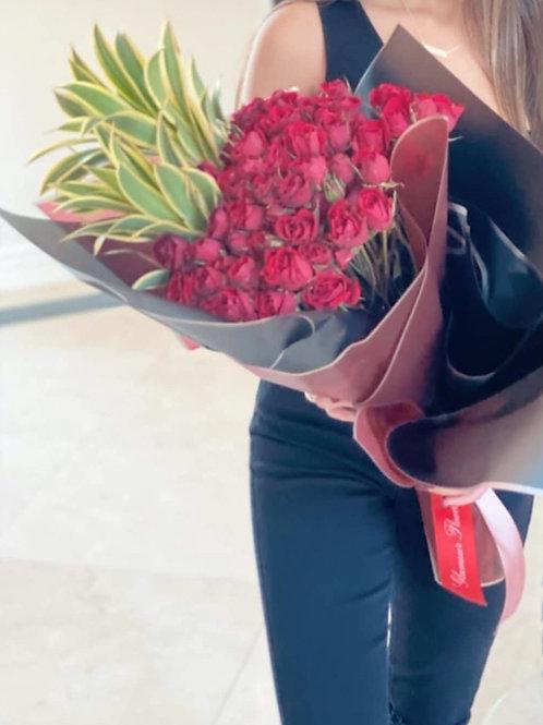 Large Hand Flower Bouquet