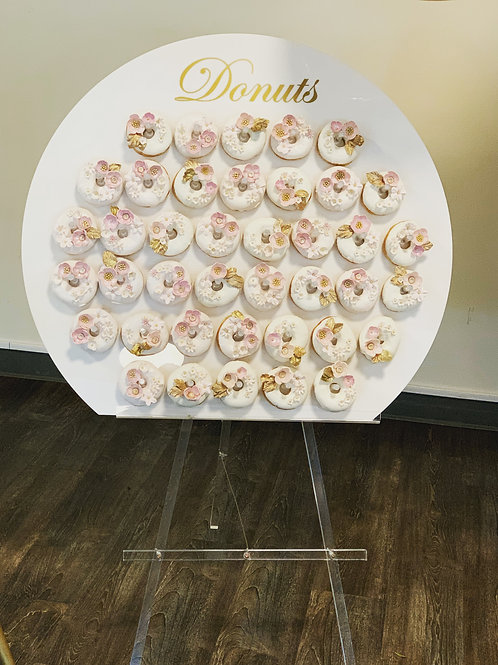 Donuts Wall With Donuts