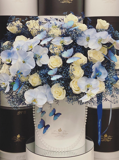 Extra Large Bouquet in Blue Colors