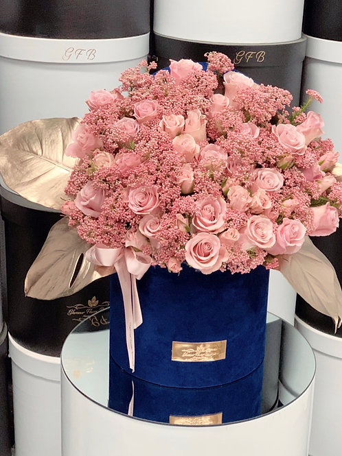 Large Arrangment in shades of pink