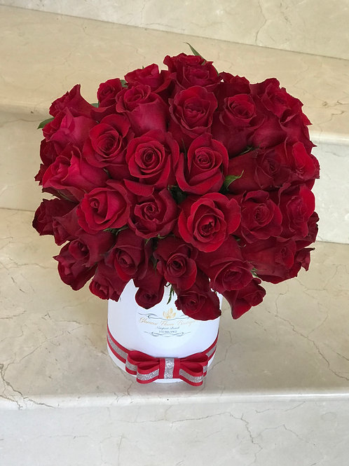 Rose Boxes in any color of roses
