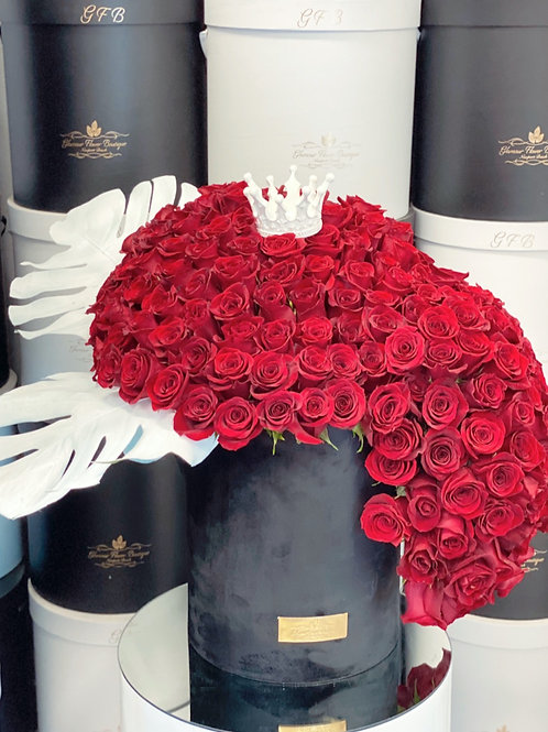 Extra Large Rose Bouquet in King and Queen Style