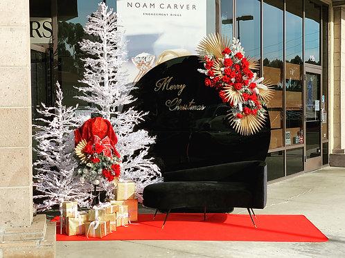 Christmas Backdrop Decorations