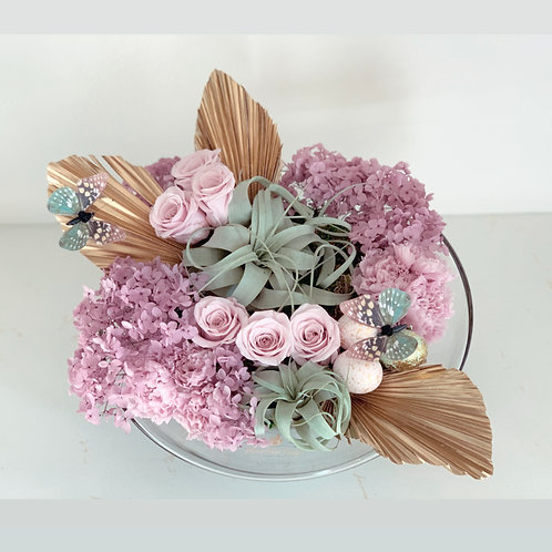 Bowl of Preserved Flowers