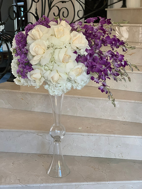 extra large boutique with Glass Vase