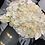 Thumbnail: Large Size Mixed Flower Bouquet in Gray and White