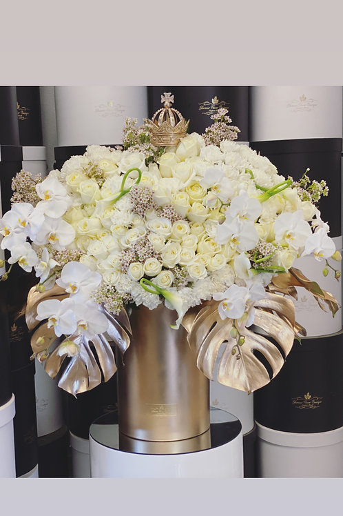 Extra Large flower Arrangement in Jumbo Gold Box