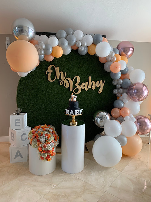 Baby Shower Decorations in Custom-made Colors