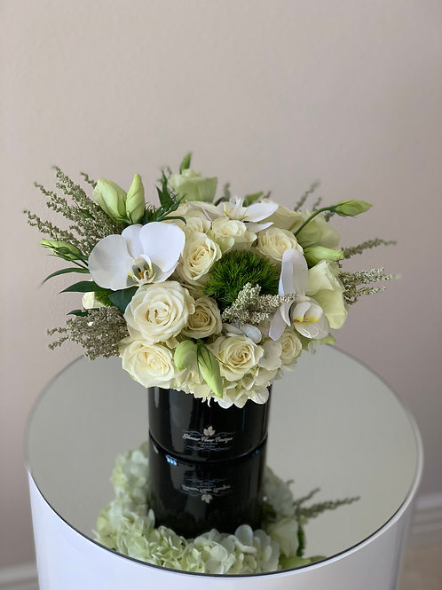 Small Centerpiece with Orchids
