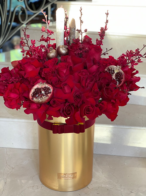 Large All red Arrangement
